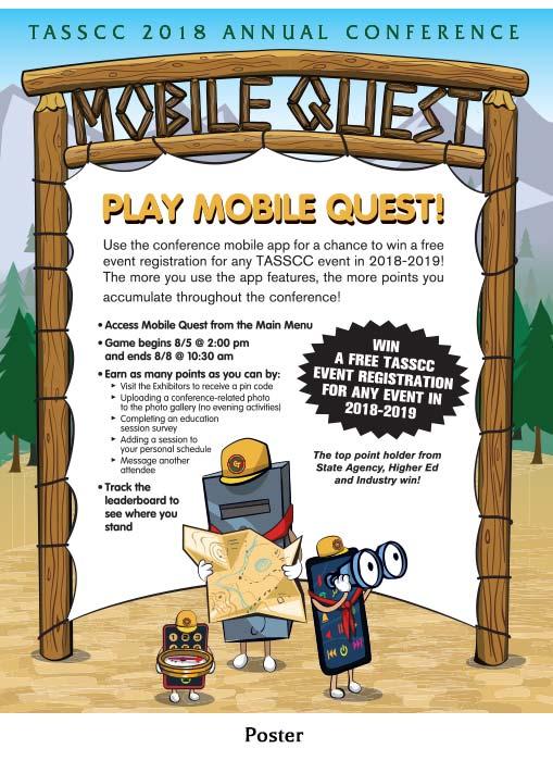 TASSCC 2018 Mobile Quest Poster - Illustration © 2018 Randy Mott