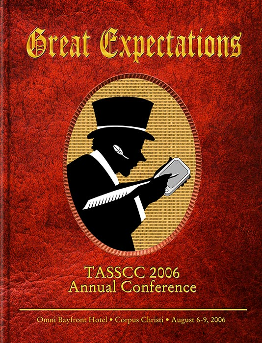 Cover for TASSCC conference program. © Randy Mott 2006